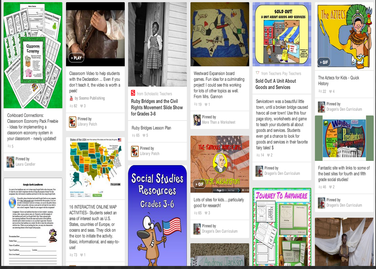 13 Good Social Studies Resources for Teachers ~ Educational Technology and Mobile Learning