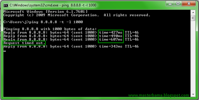 Cara Melihat Kecepatan Internet Dengan CMD
