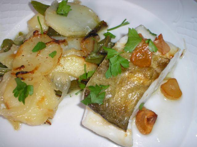 Bacalao con patatas panaderas recetas de cocina for Cocina bacalao con patatas