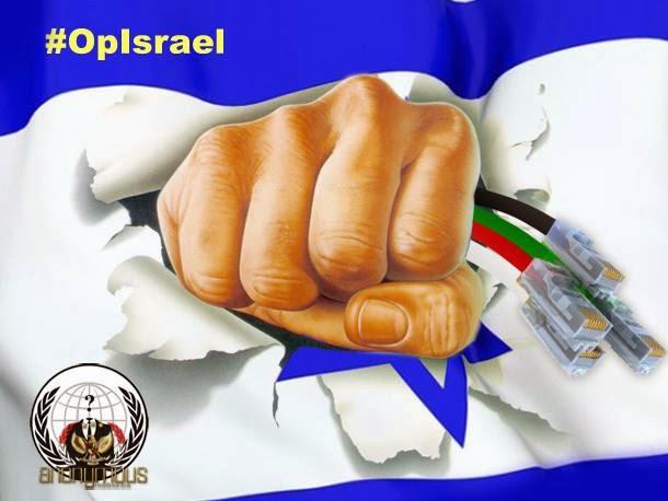 Perang Cyber Dimulai #OPIsrael Dilaksanakan Kembali