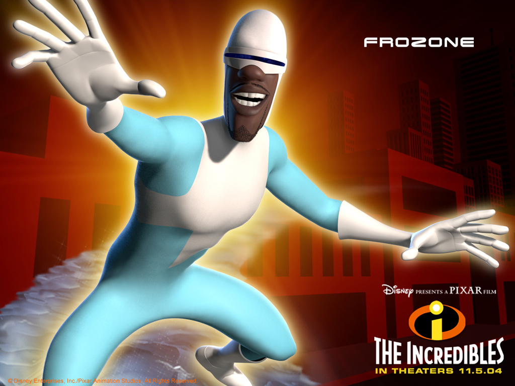 Frozone in The Incredibles