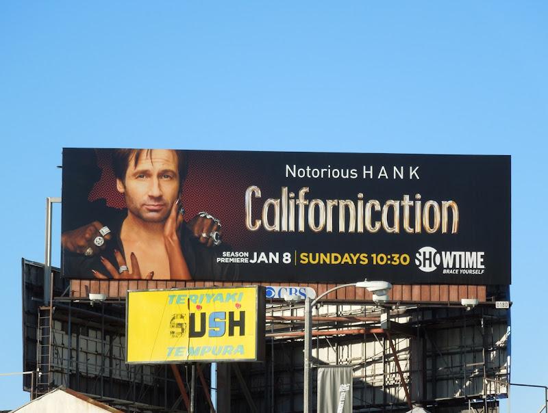 Notorious Hank Californication billboard