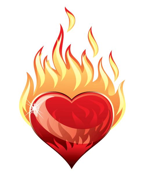 Heart A-Blaze