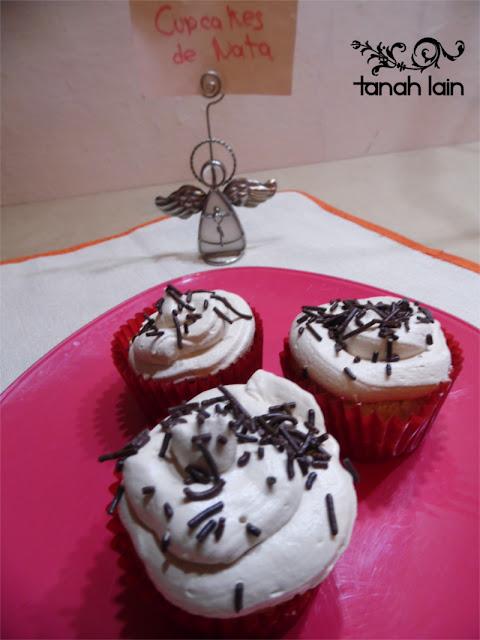 cupcakes de crema