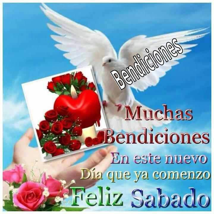 feliz sabado bendiciones