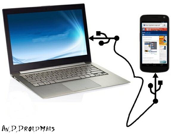 Como transferir fotos do computador para o celular Dicas e  - imagens para celular via usb