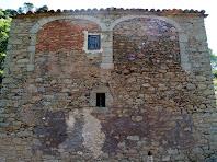 Arcs de carpanell a la façana de migdia del mas Collsameda