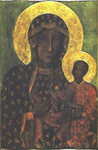 La Virgen María de Częstochowa Polonia atribuida al evangelista San Lucas