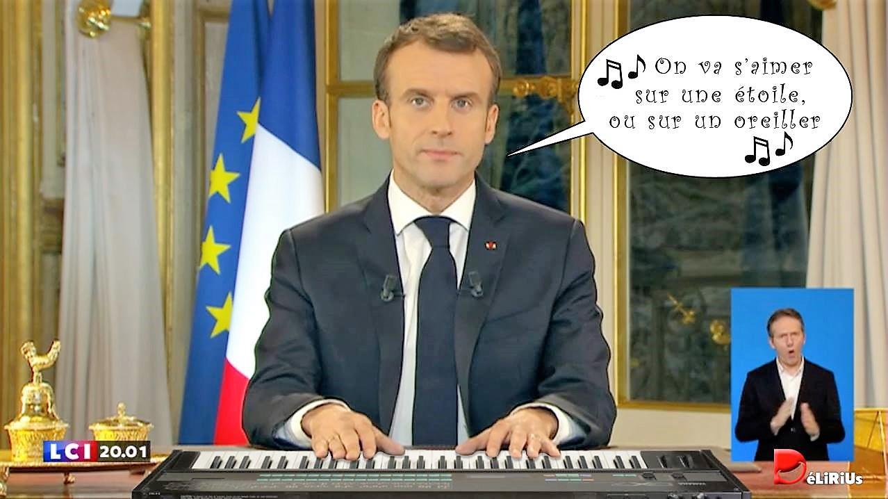 #Macron20H