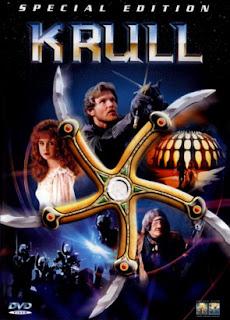 Krull Portada pelicula Estrella 5 puntas cíclope cyclops alien invaders invasores principe princesa