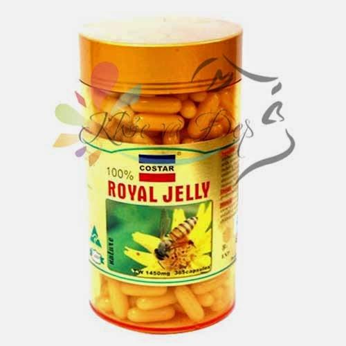 Sữa Ong Chúa Úc COSTAR - Royal Jelly 1450mg x 365 viên