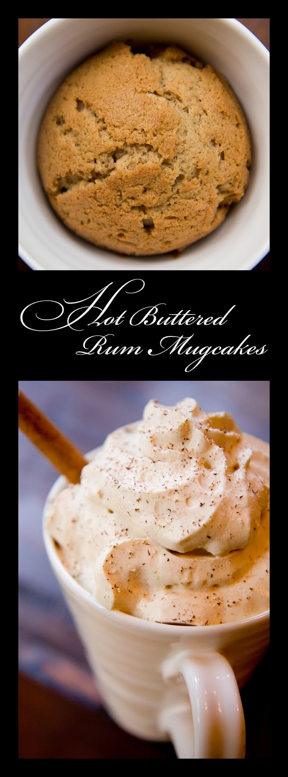This hot buttered rum mugcake recipe uses all of the same spices as ...