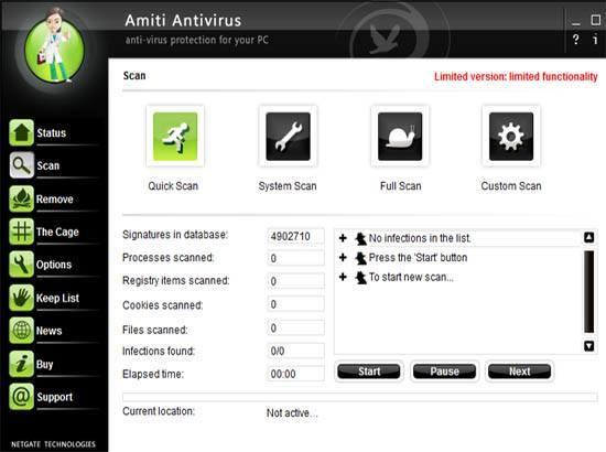 تحميل برنامج الحماية من الفيروسات Amiti Antivirus 18