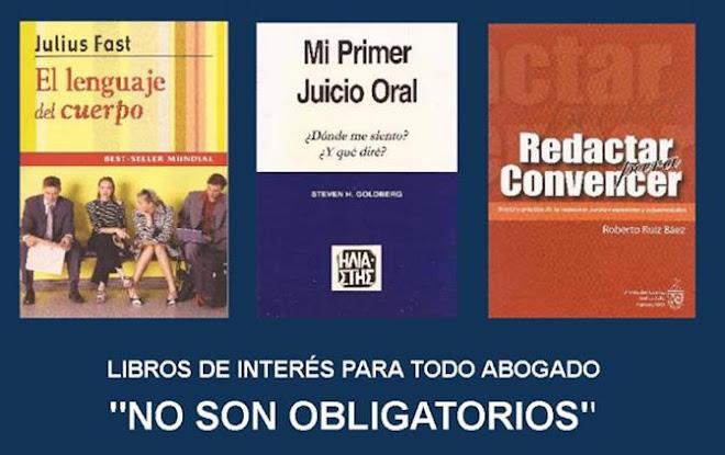 Libros de Interés Derecho