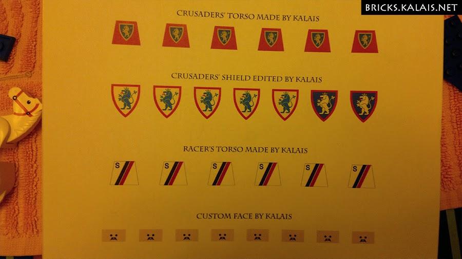 5. Sticker sheet.