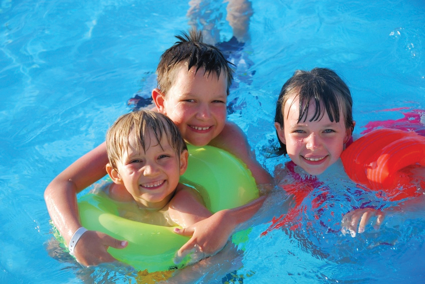 Perpetual preparedness a summer swim for Kids swimming pool