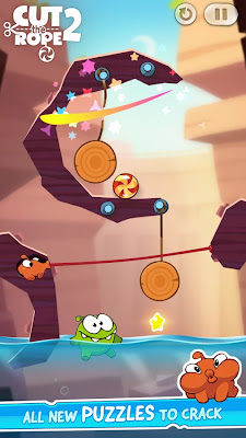Cut the Rope 2 v1.1.2 Mod [Unlimited Coins]