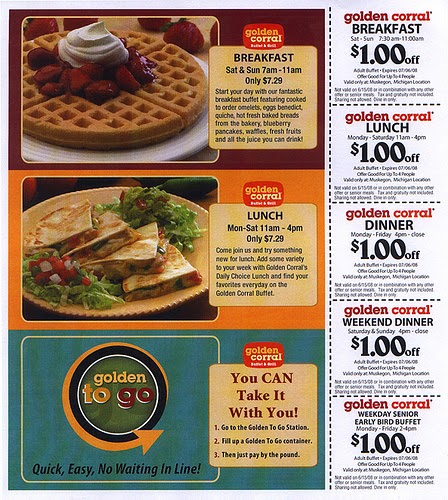 photograph about Coupon for Golden Corral Buffet Printable called Golden corral cafe discount codes free of charge / Pirates cove golfing