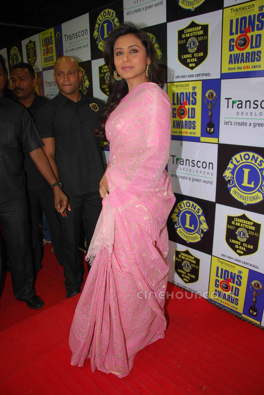 Lions Gold Awards1 - Lions Gold Awards, Rani Mukherjee, Chirag Paswan, Poonam Pandey and others