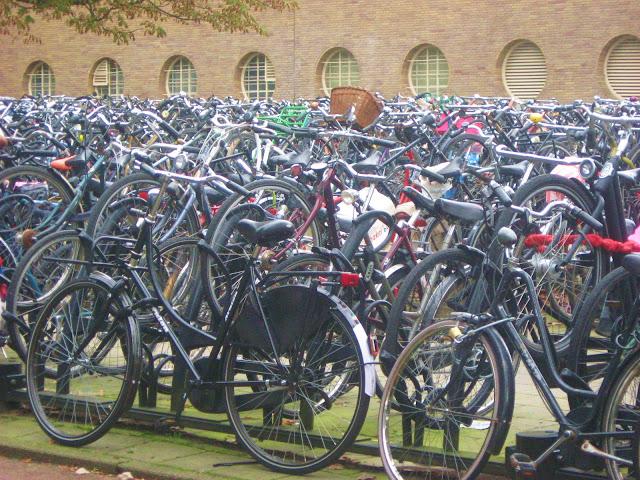 parcheggio bici stazione amsterdam
