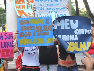 Marcha das Vadias em Recife