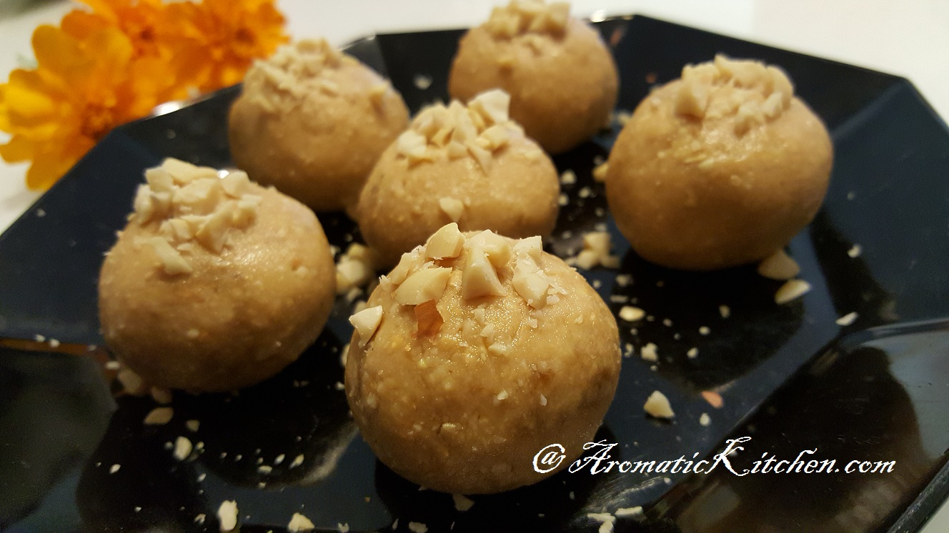 Aromatic Kitchen: Peanut Laddu (Peanut Balls)
