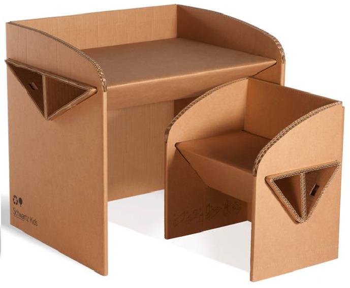 El arte del regalo nuevas ideas igual de tiles - Como hacer una mesa escritorio ...