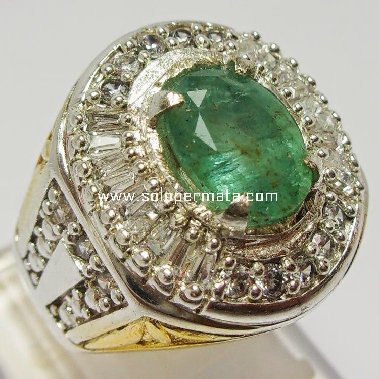 Batu Permata Zamrud Emerald Beryl - SP045