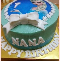 KEK RED VELVET TEMA FROZEN