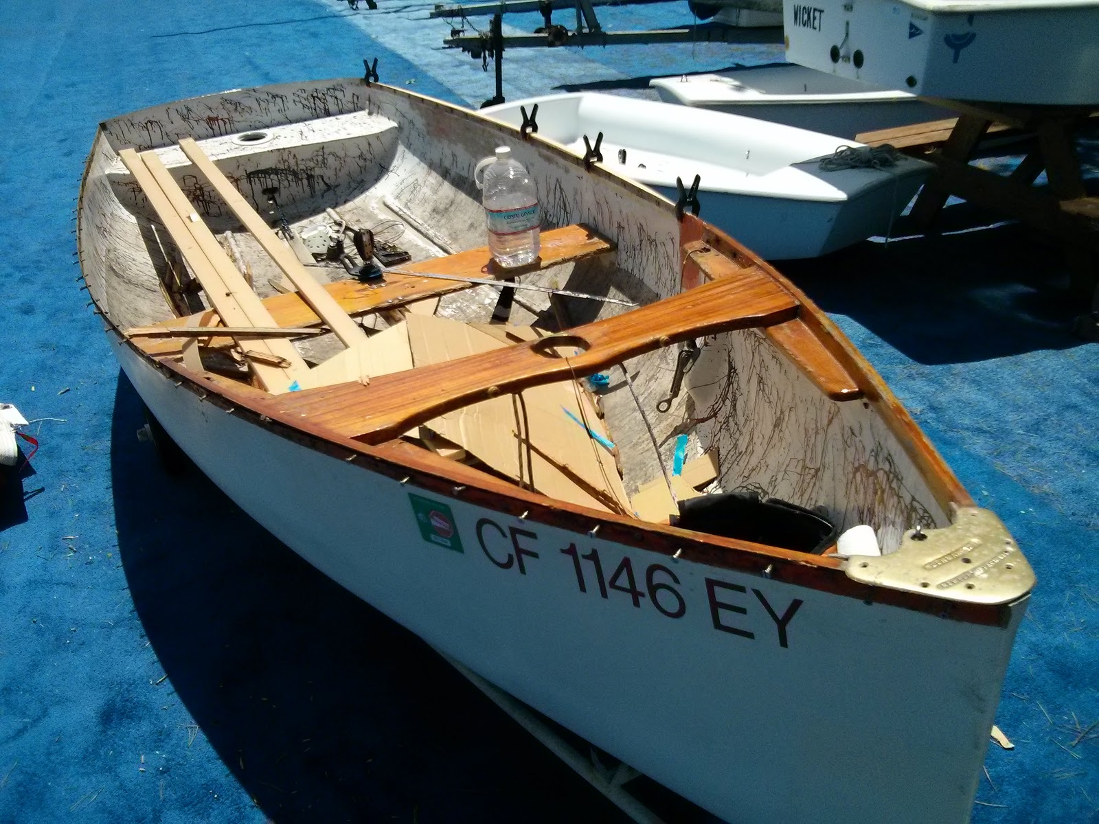 Sailing Adventures of David & Kathy: Ultimate sailing dinghy for ...