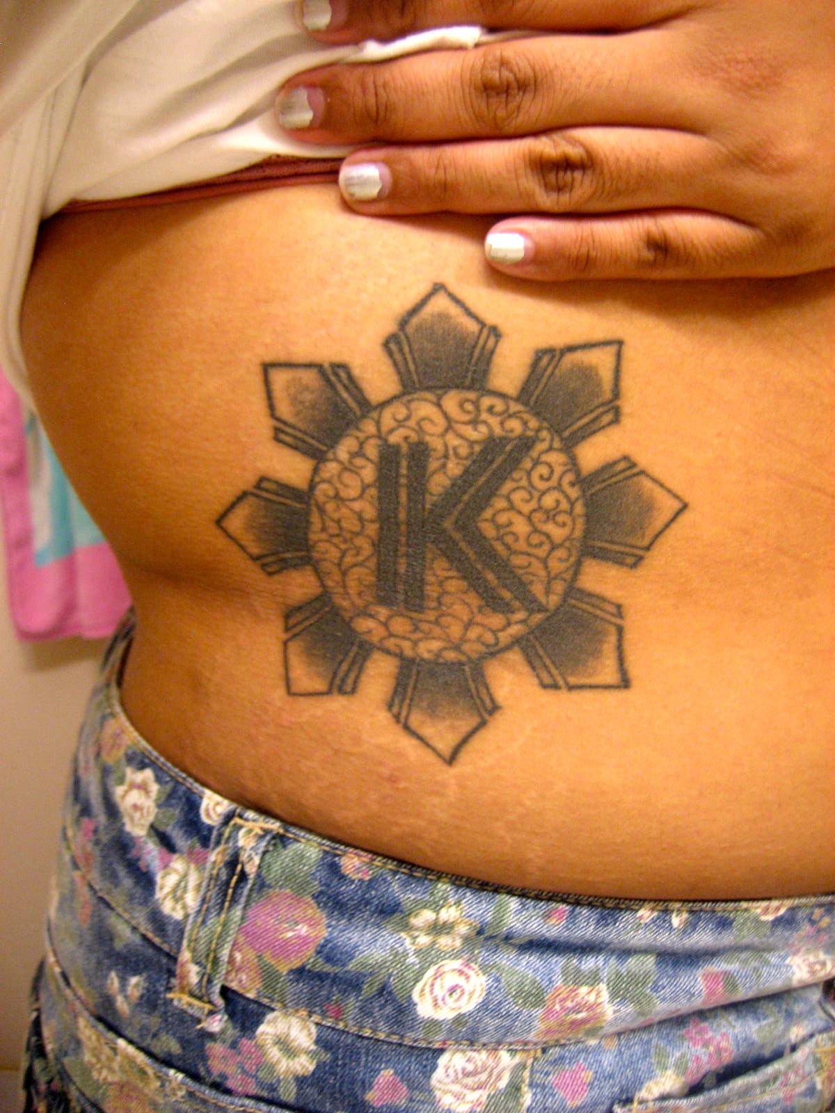 Tatouage de lettres entrelac es - Modele tatouage lettres entrelacees ...