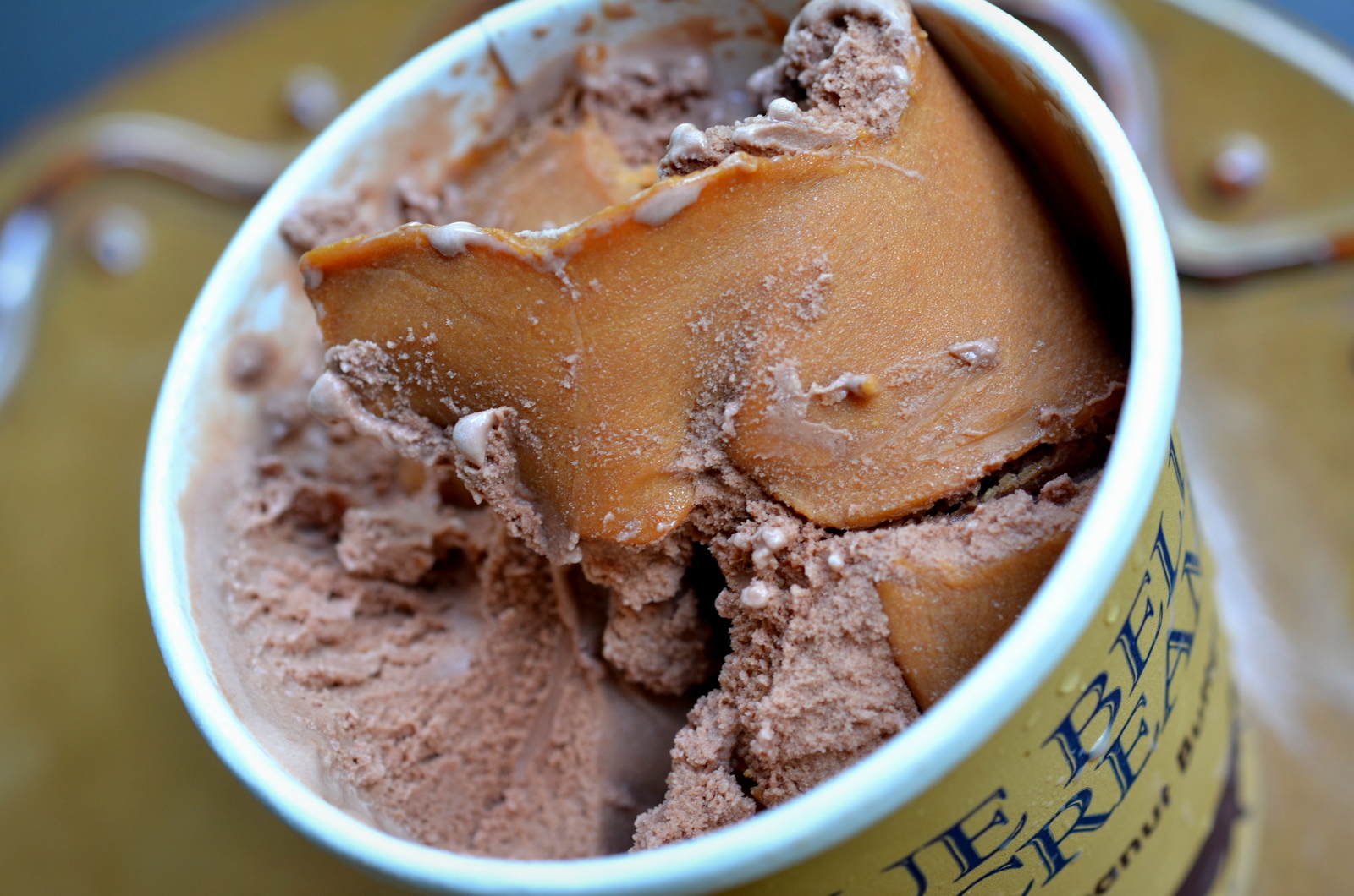 food and ice cream recipes REVIEW Blue Bell Chocolate Peanut Butter