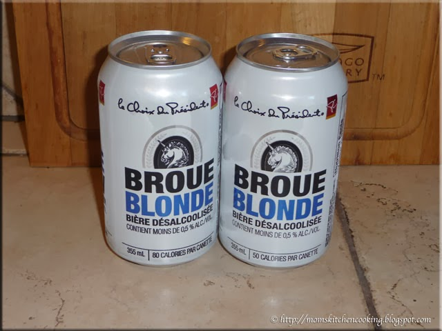 President's Choice Blonde Brew front of can