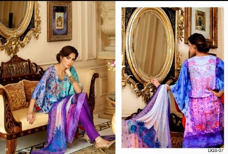 Gul Ahmed Pure Silk Dresses