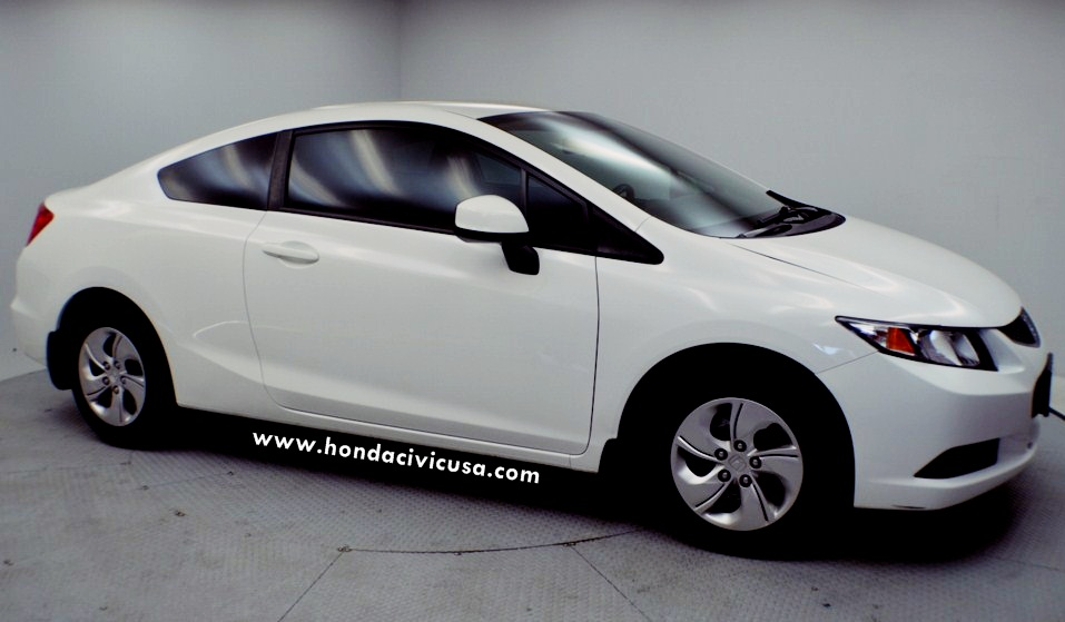 Perfect 2013 Honda Civic LX Coupe Manual Review Canada