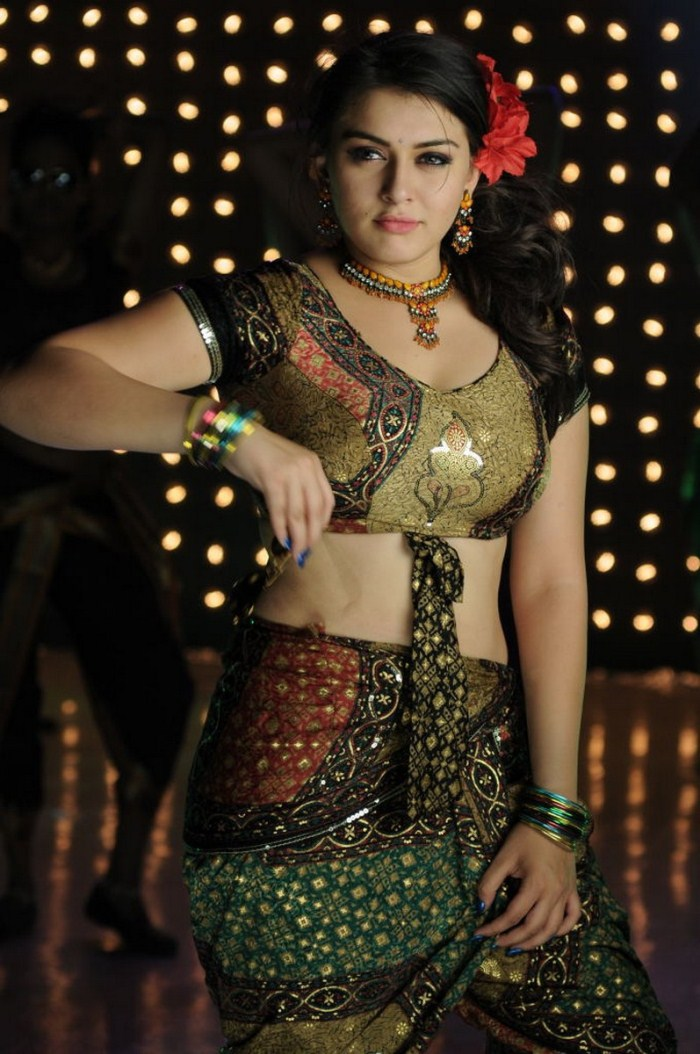 Hansika Motwani Hot Saree Songs