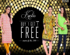 Zovi: Womens Clothing Buy 1 Get 1 Free + upto 10% off + upto 5% off