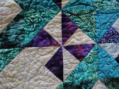 Forest Canopy, quilting detail 2