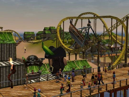 roller coaster tycoon 4 free download full version