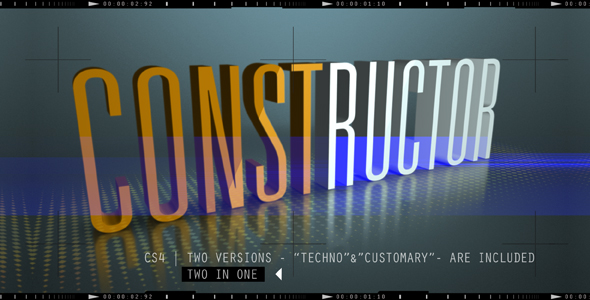 VideoHive CONSTRUCTOR