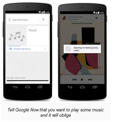 Google Now Lakukan Update, Tambahkan Akses Langsung ke Musik