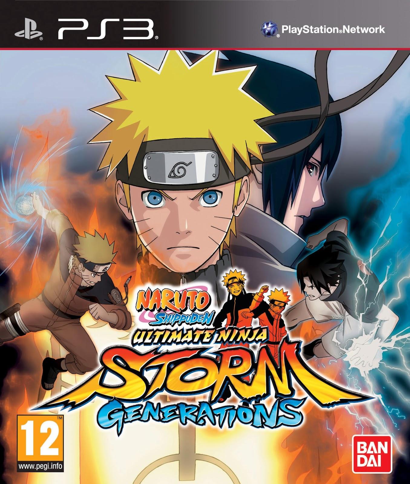 Todos los juegos de Naruto para PS3  Juegos de Naruto