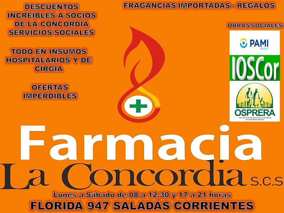 FARMACIA LA CONCORDIA SCS