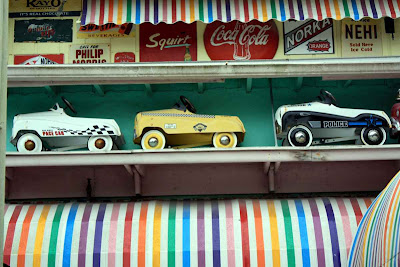 Bei diesen Spielzeugautos werden sogar Rentner schwach © Copyright Monika Fuchs, TravelWorldOnline