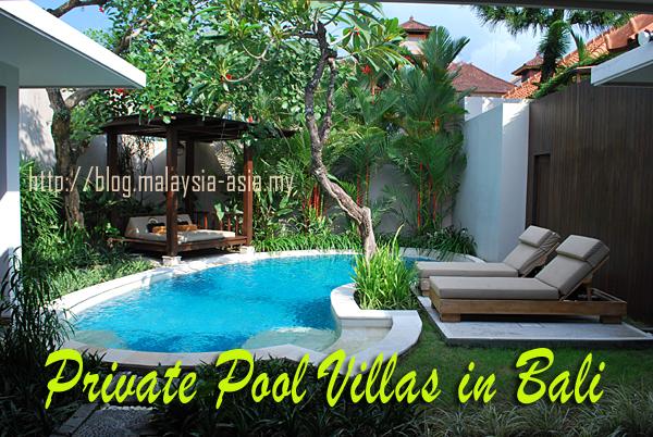 Private Pool Villas in Bali
