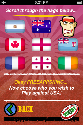 Super Crazy Rugby Free App Game By The Whole Caboosh
