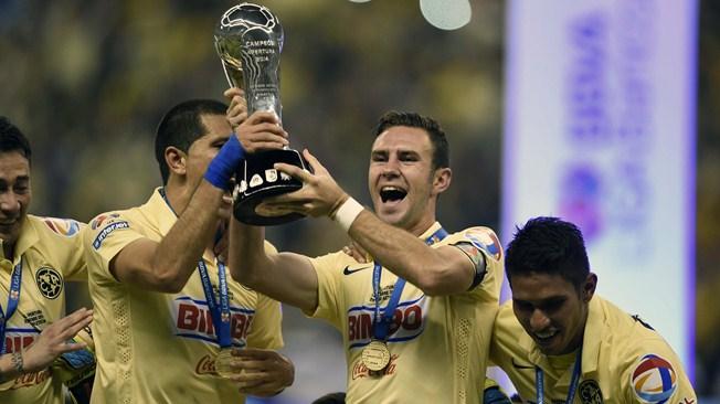 América, Campeón del Torneo Apertura 2014 del futbol mexicano Liga MX. Derrotó 3-0 (3-1 global) a Tigres, quien terminó con 8 jugadores por expulsión. América consigue su estrella número 12, convirtiéndose así en el máximo ganador del futbol mexicano | Ximinia