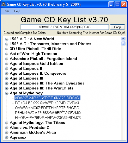 serial key age of empires 3