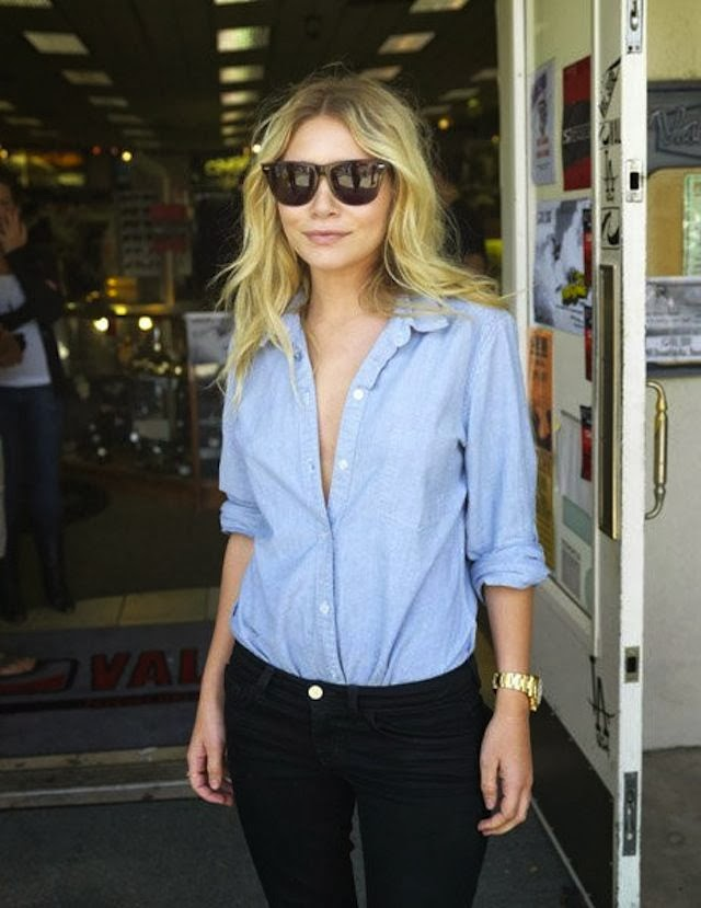 How to Wear: The Denim Shirt - style-rx.ca