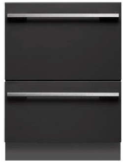 dishwasher integrated fisher paykel dishdrawer drawer the block kim matt hidden double black